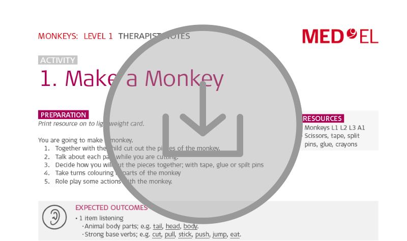 Aural rehabilitation lesson kit download #12 Monkeys