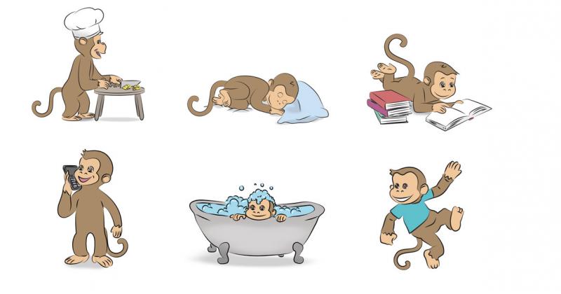 Aural rehabilitation lesson kit 12 Monkeys
