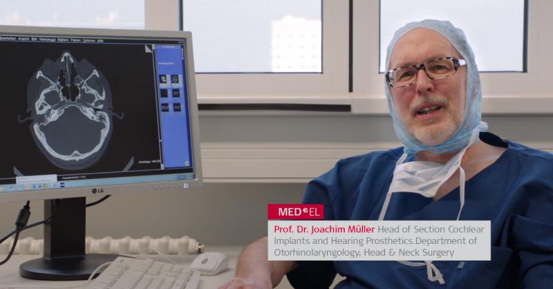 BONEBRIDGE surgical case study Professor Joachim Mueller